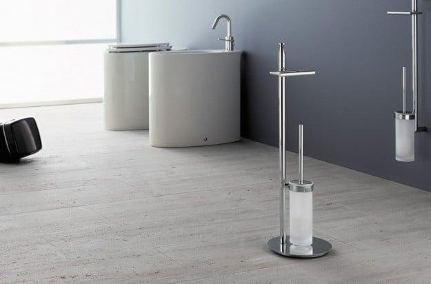 Accessori Per Bagno Moderno. Beautiful Set Pezzi Arredo Bagno Flab ...