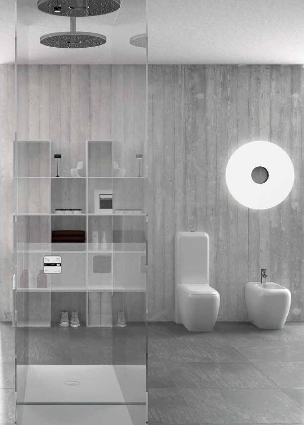 Ambientazioni sanitari lavandini e rubinetteria firenze magazzino della piastrella e del bagno - Ambientazioni bagno ...